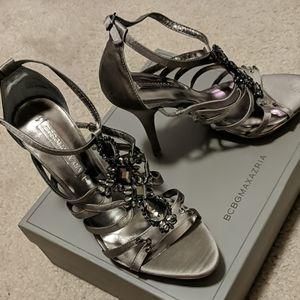 BCBG MAXAZRIA jeweled stiletto heels - Size 8